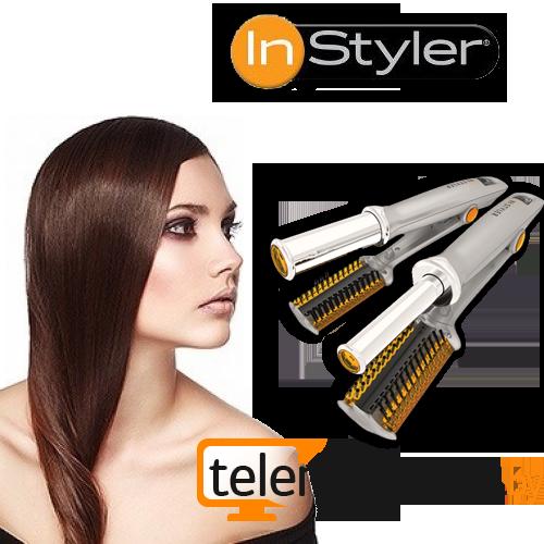 ИнСталлер - Утюжок для волос InStyler с вращающимся нагревателем + ПОДАРОК