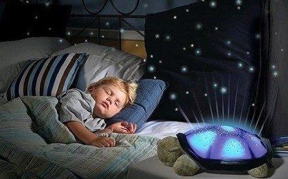 Музыкальный проектор звездного неба - Ночник черепаха