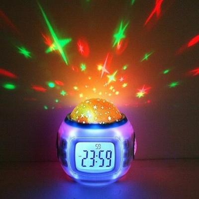 Часы – музыкальный проектор звездного неба
