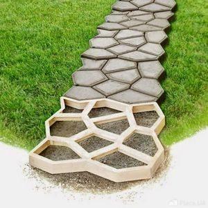 Форма для садовых дорожек в Телемагазине