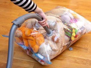 вакуумные пакеты для вещей и одежды