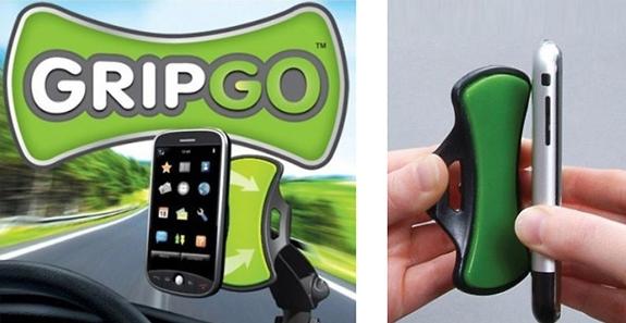 автомобильный держатель для телефона и планшета GripGo