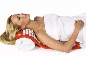 массажный ортопедический коврик для ног и тела