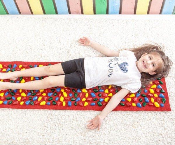 массажный ортопедический коврик