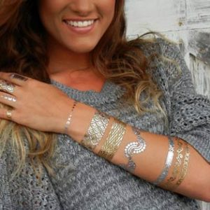 Shimmer (Metallic Jewelry Tattoos)