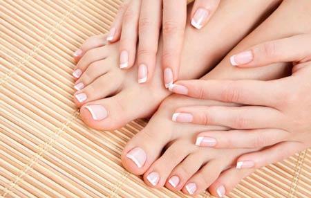 здоровые и красивые ногти с электрической пилкой для ногтей
