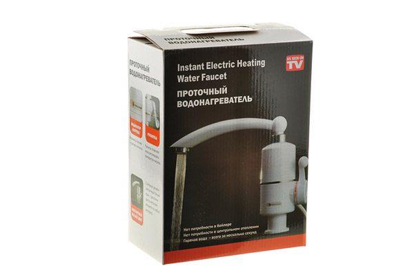 электрический проточный кран-водонагреватель Supretto