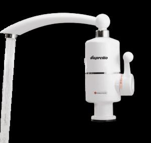 Проточный кран водонагреватель Supretto