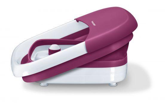 гидромассажная ванночка для ног с функциями поддержания температуры воды, гидромассажа, вибромассажа, инфракрасного массажа. Beurer FB 30