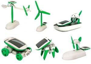 конструктор на солнечных батареях 6 в 1