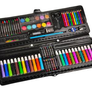 Детский художественный набор для рисования в чемоданчике