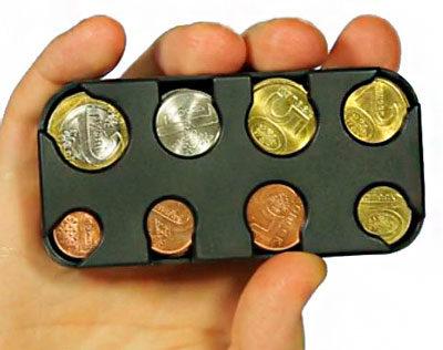 Монетница без зажима для бумажных денег