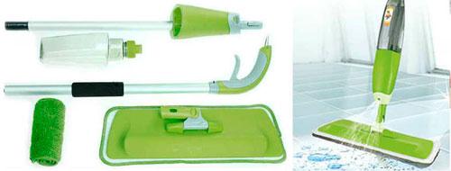 швабра с распылителем spray mop Deluxe (спрей моп делюкс)