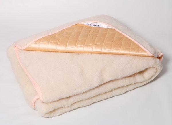 одеяло из натуральной овечьей шерсти