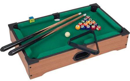 настольный мини-бильярд тэйбл топ пул (table top pool)