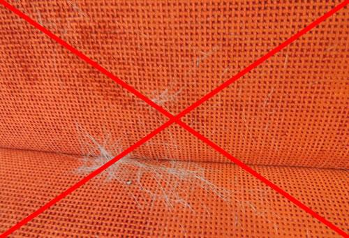 перчатка для вычесывания шерсти тру тач