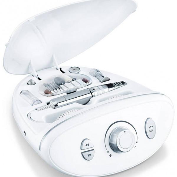 электрический маникюрный и педикюрный набор beurer mp100