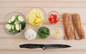 Набор кухонных ножей Сила гранита