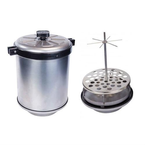 Коптильня домашняя горячего копчения купить самогонный аппарат дачный фланцевый с банкой 20 литров
