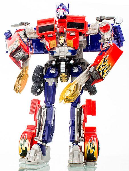 игрушка робот оптимус прайм с маской