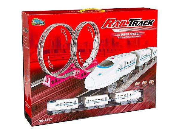 Железная дорога «Скоростной поезд»