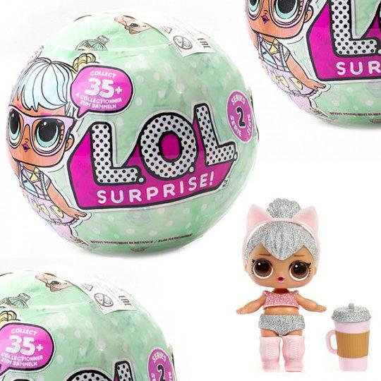 кукла с сюрпризом в шаре ЛОЛ LOL
