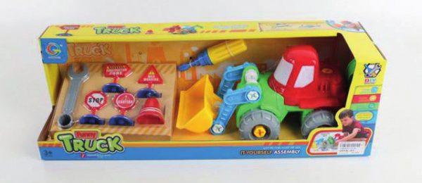 Игрушка «Собери трактор»