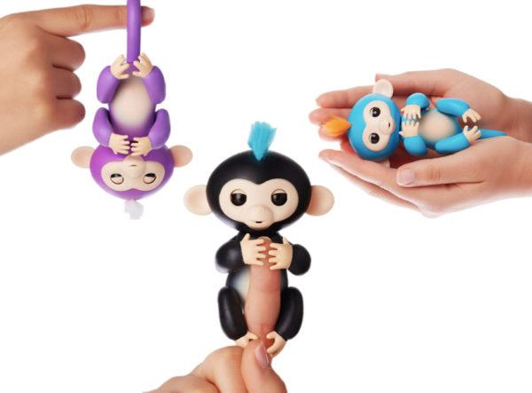 Ручная обезьянка Фингер Манки Fingerlings (Фингерлингс)