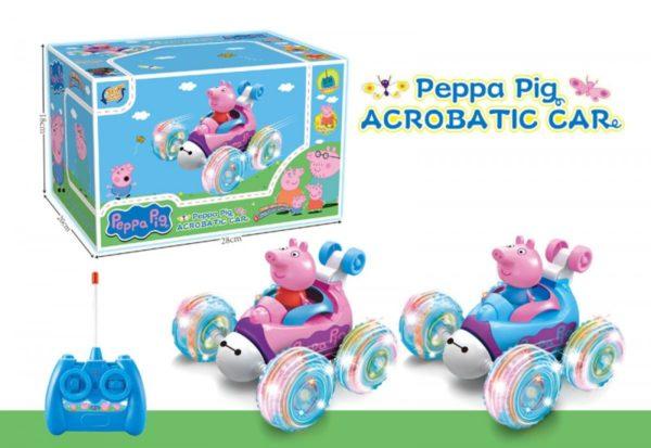 Машинка перевертыш свинка Пеппа