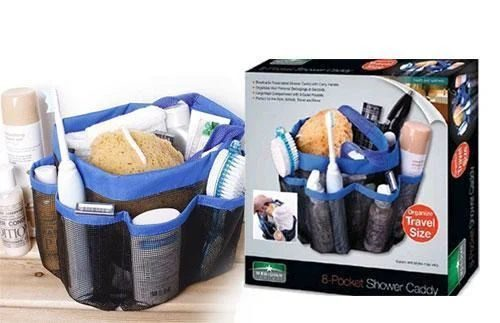 8-Pocket Shower Caddy
