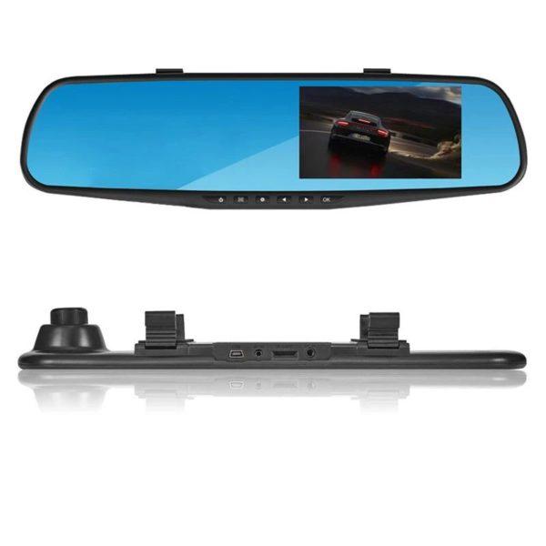 Зеркало-видеорегистратор с камерой заднего вида Vehicle Blackbox