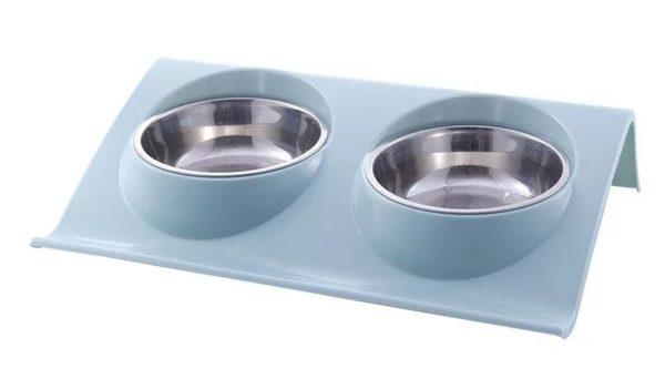 Двойная миска для собак