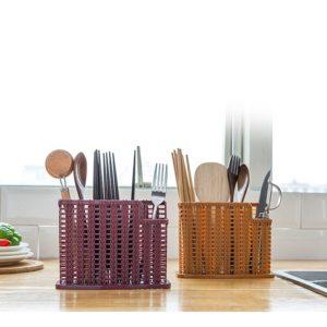 Пластиковый плетеный органайзер для кухни